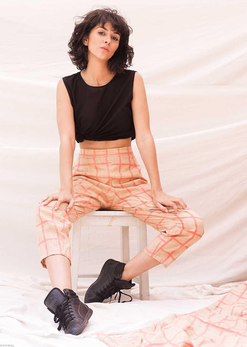 trendy lifestyle - pink (Pants) By Jovi Fashion
