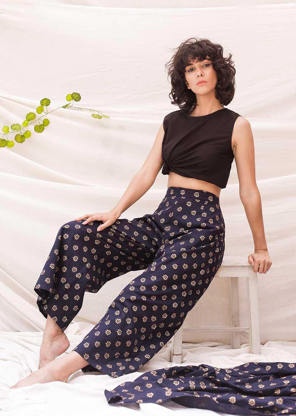 Glinting Blooming (Pants) By Jovi Fashion