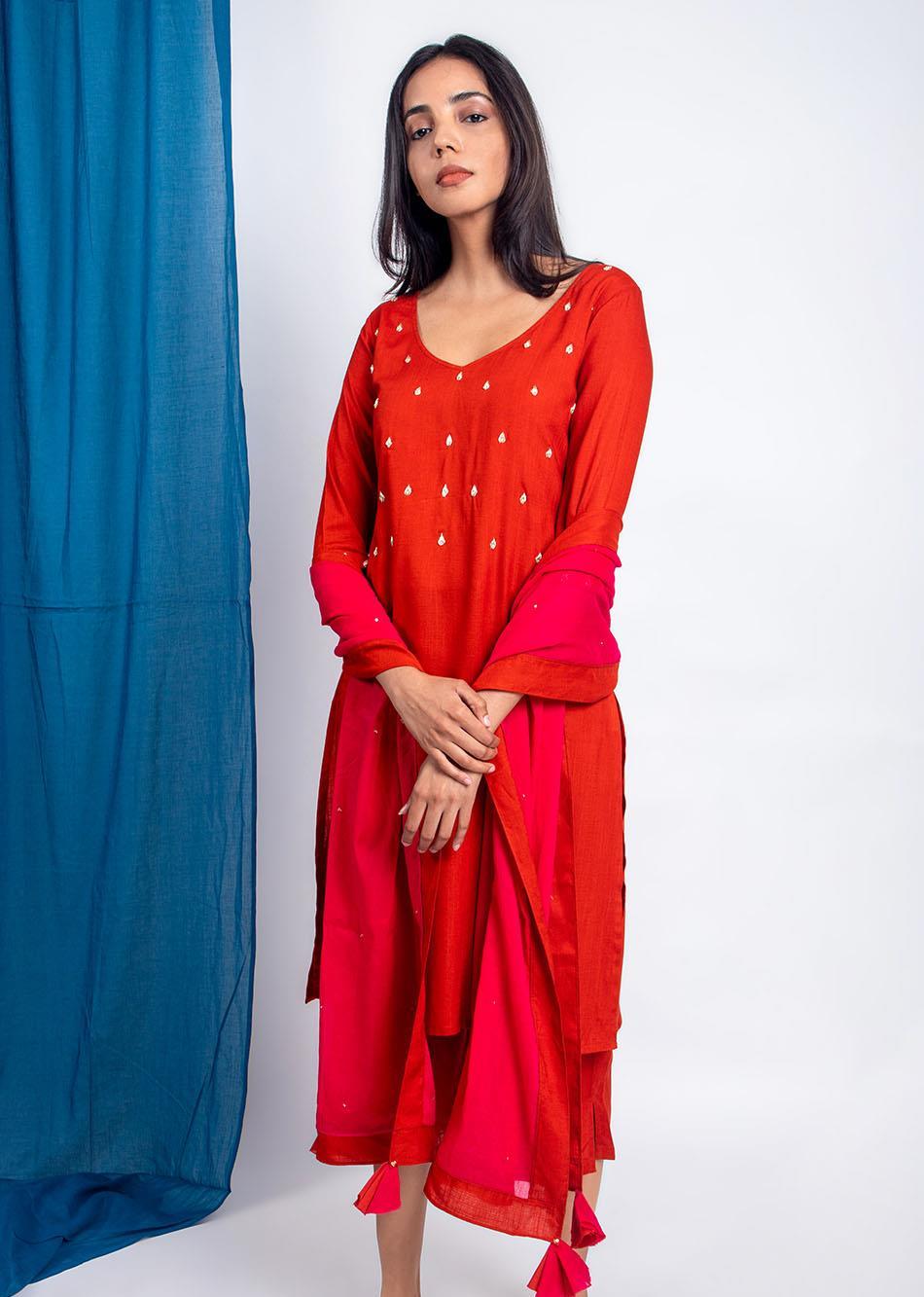 Rani Dupatta By Jovi Fashion