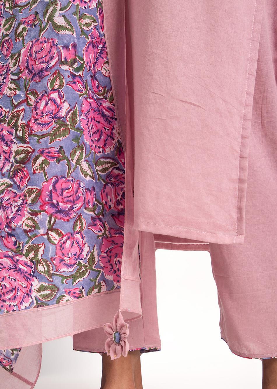 All Floral Dupatta By Jovi Fashion