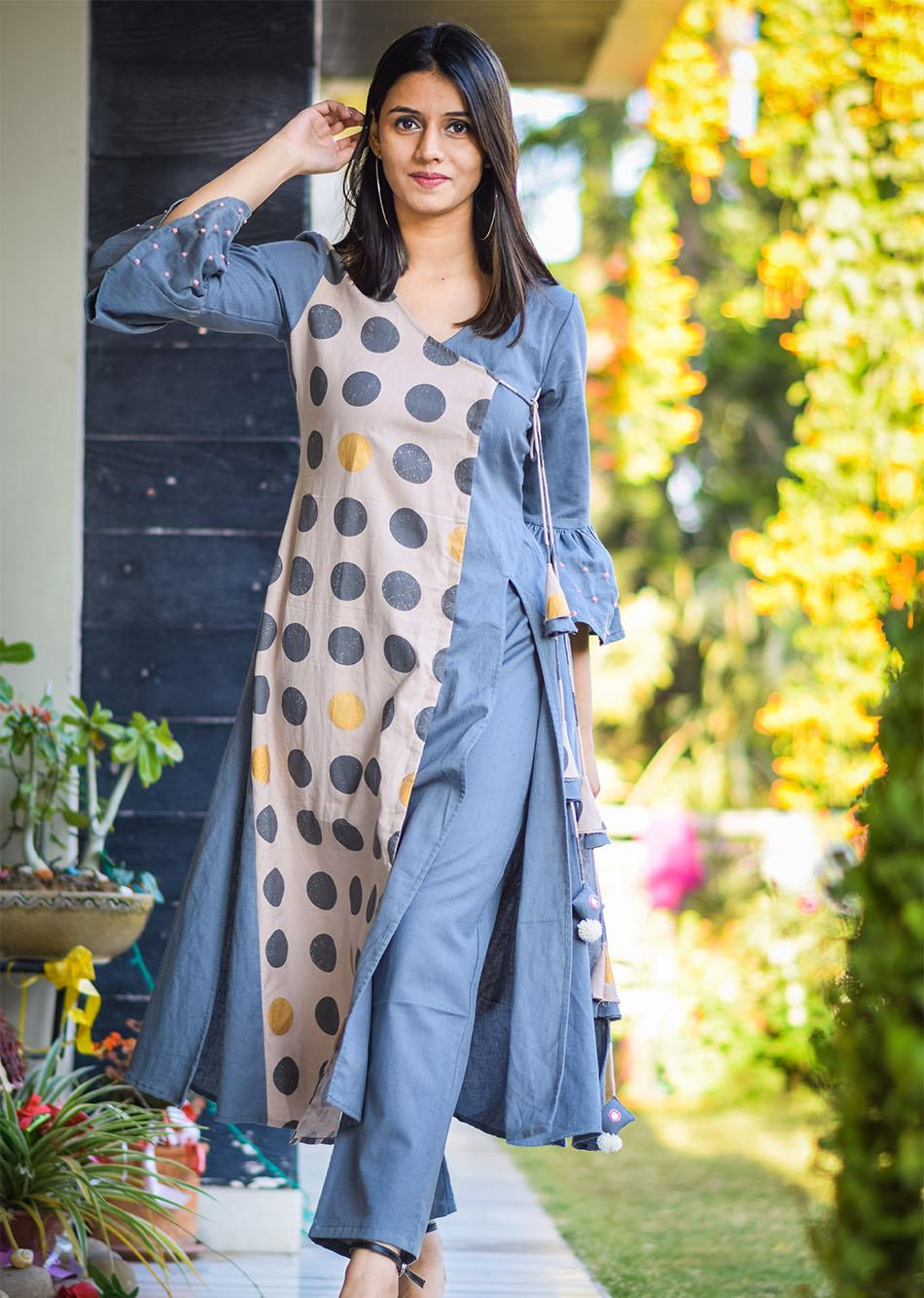 Artillery aestheticism grey and pink By Jovi Fashion