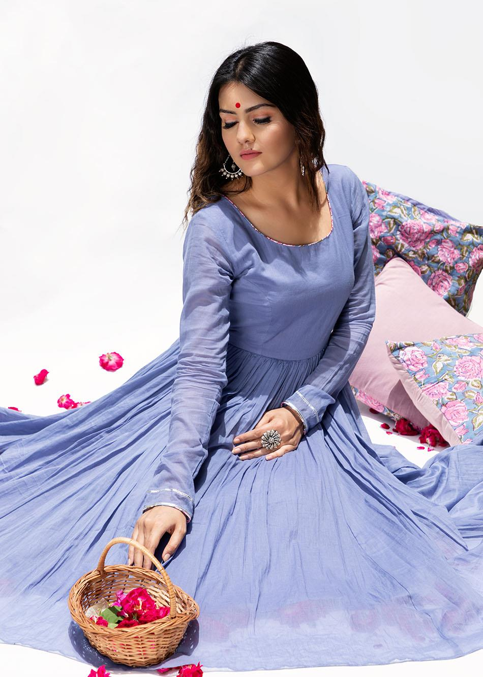 Baiguni Anarkali (Set of 3) By Jovi Fashion