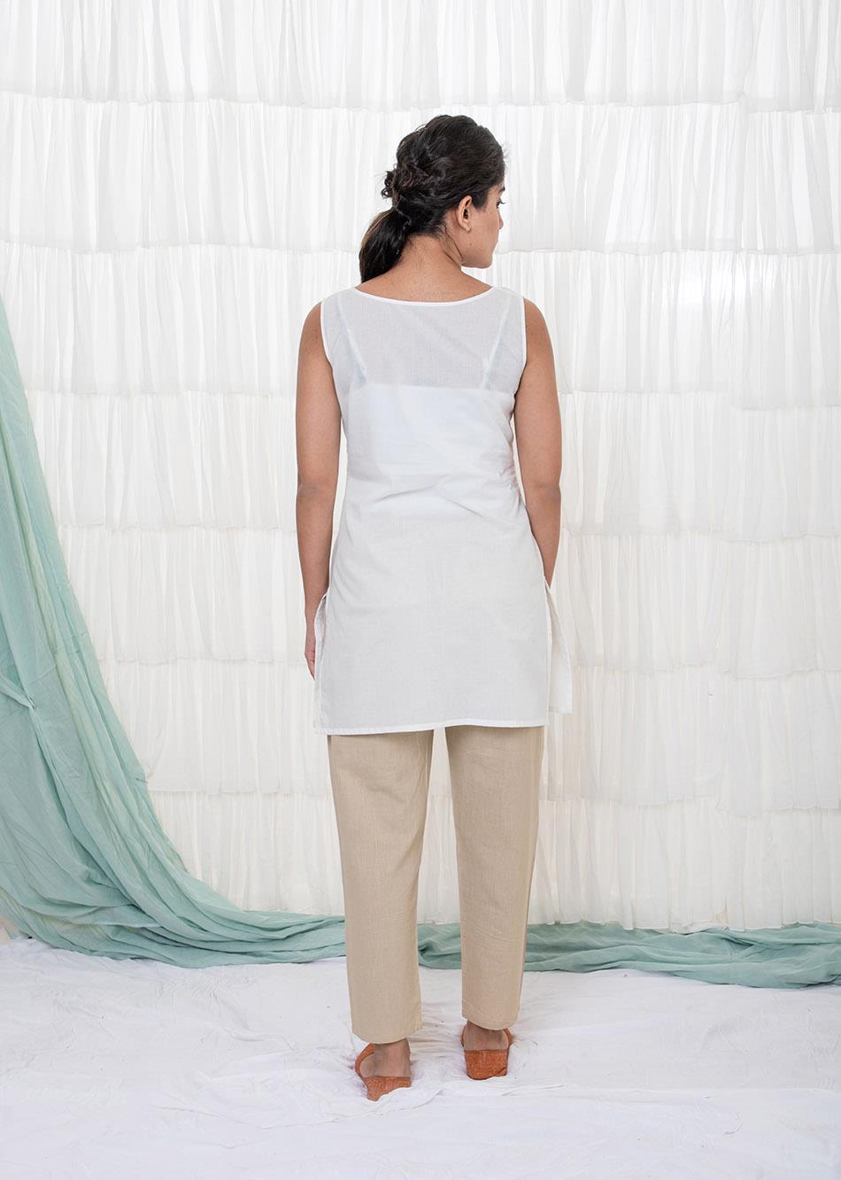 COTTON SLIP (V-NECK) By Jovi Fashion