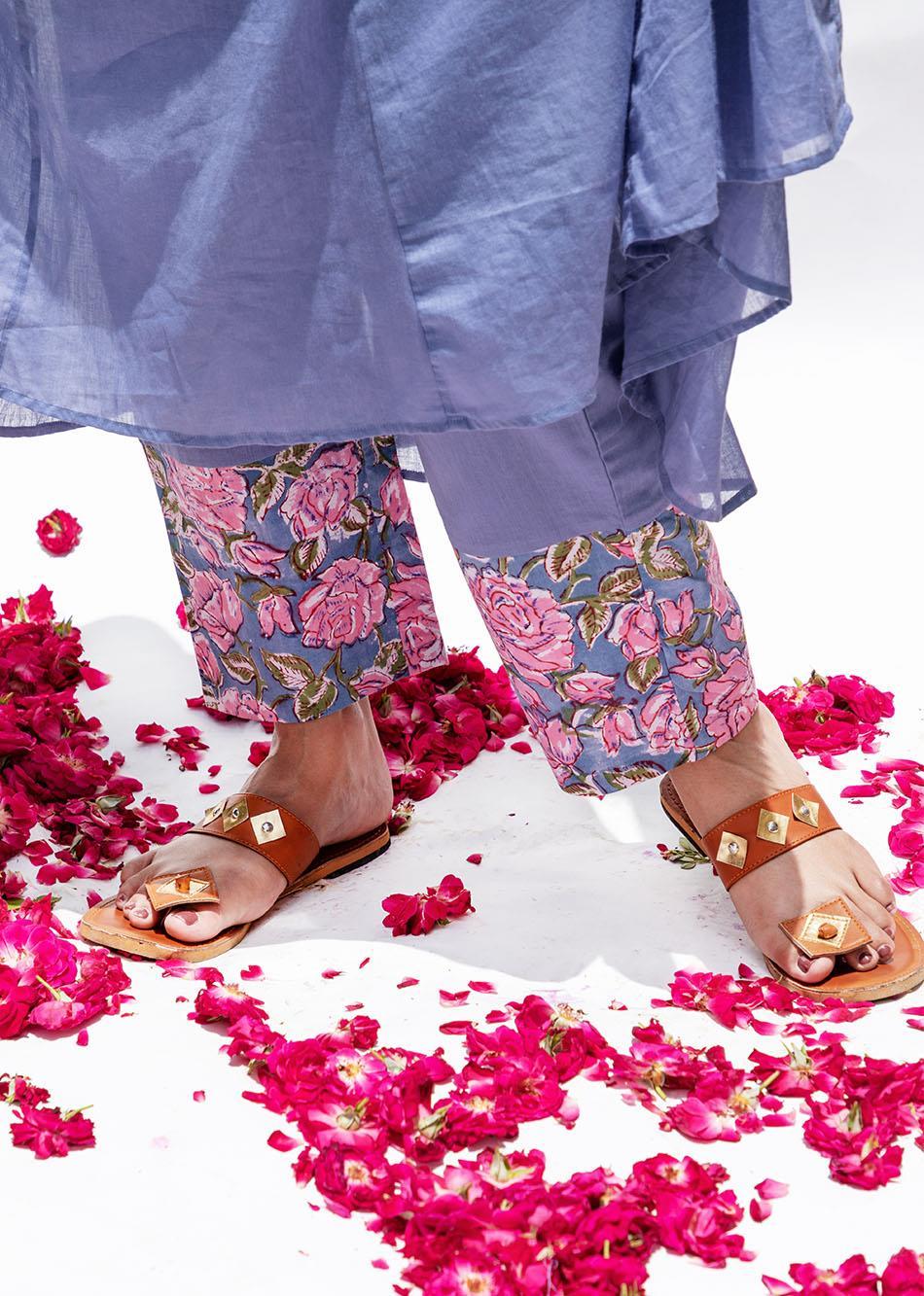 Baiguni V-neck Anarkali (set of 3) By Jovi Fashion