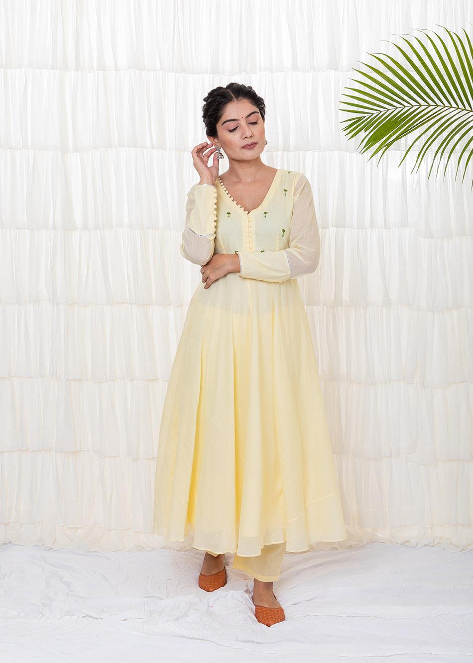 Lilium Anarkali Set  By Jovi Fashion