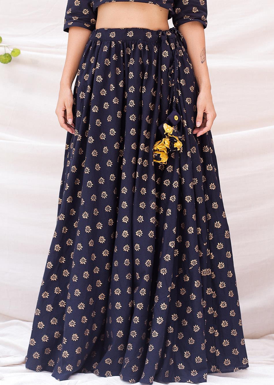 Gleaming look (Flowy Skirt) By Jovi Fashion