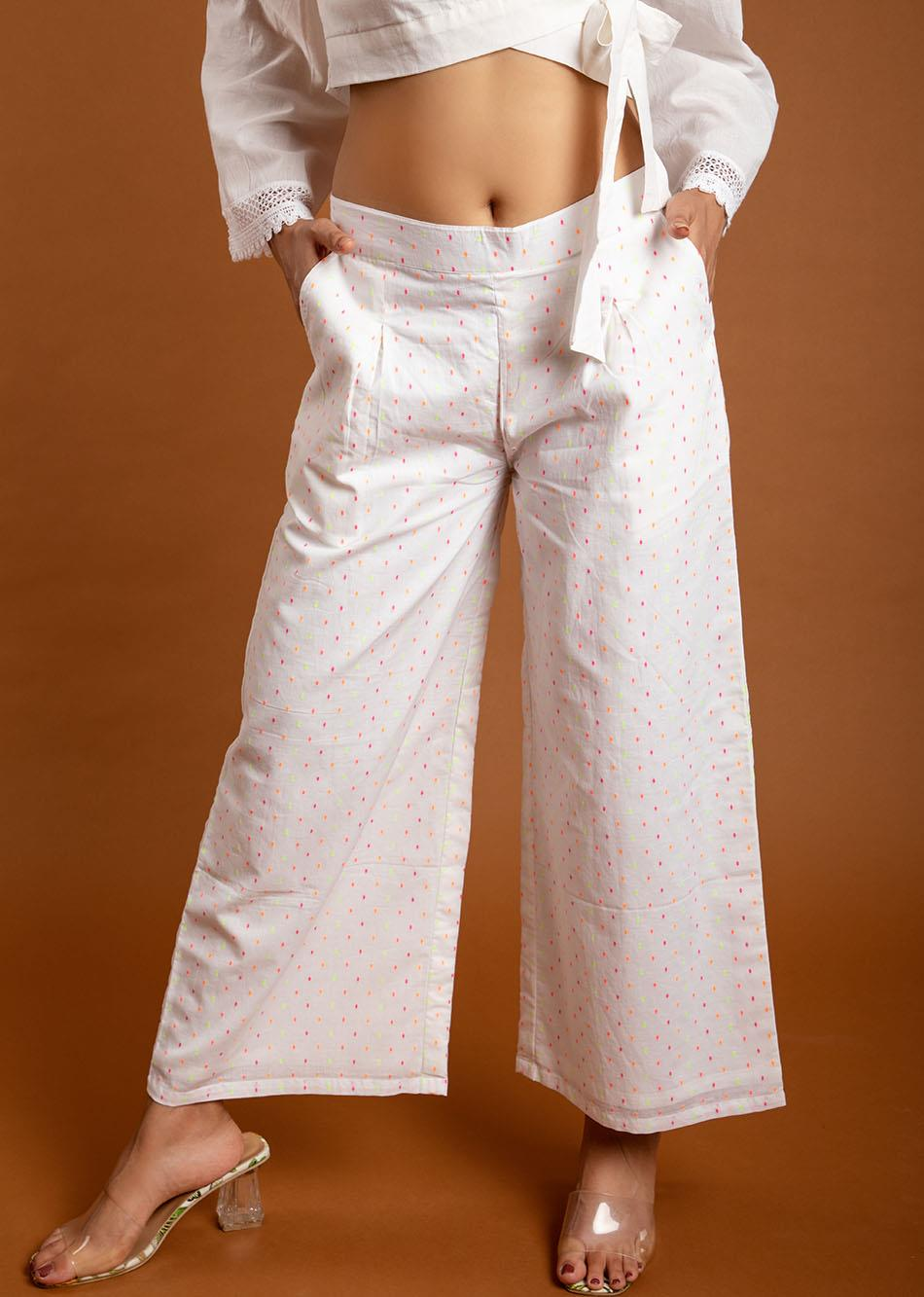 Easy white pants By Jovi Fashion