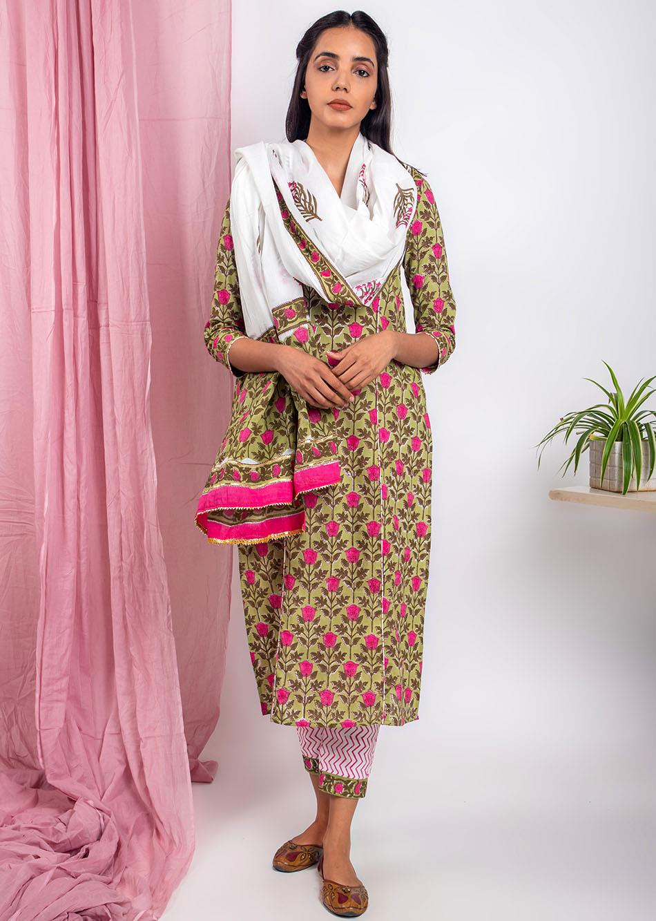 Refined Gota Dupatta By Jovi Fashion