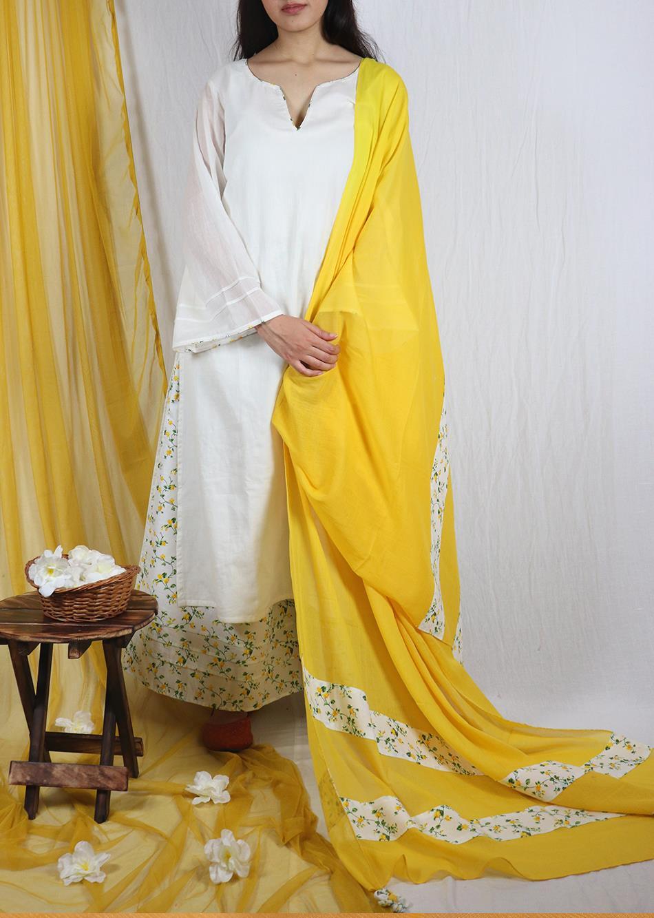 Basantah Dupatta By Jovi Fashion