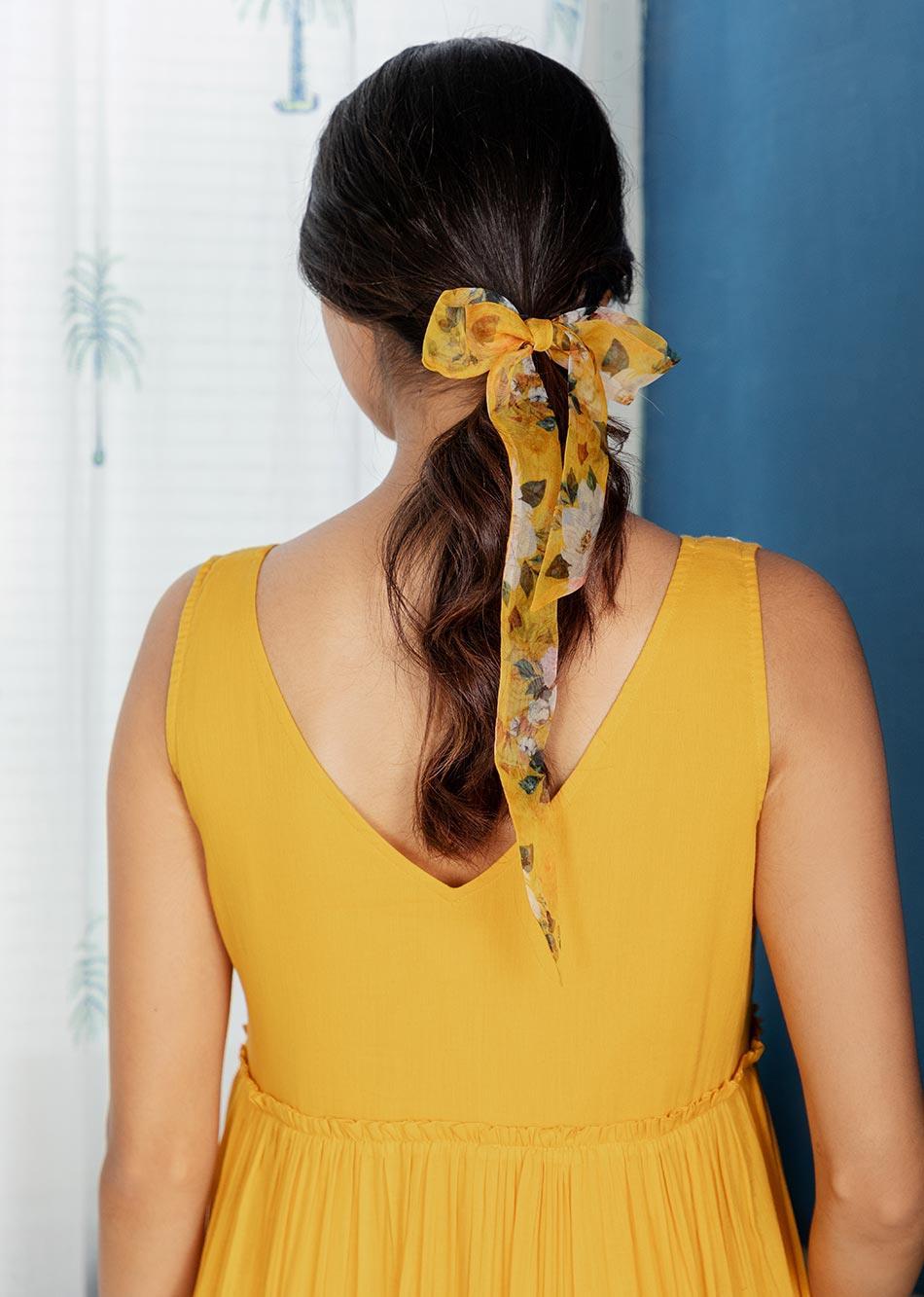 BUTTERSCOTCH NOTCH DRESS By Jovi Fashion