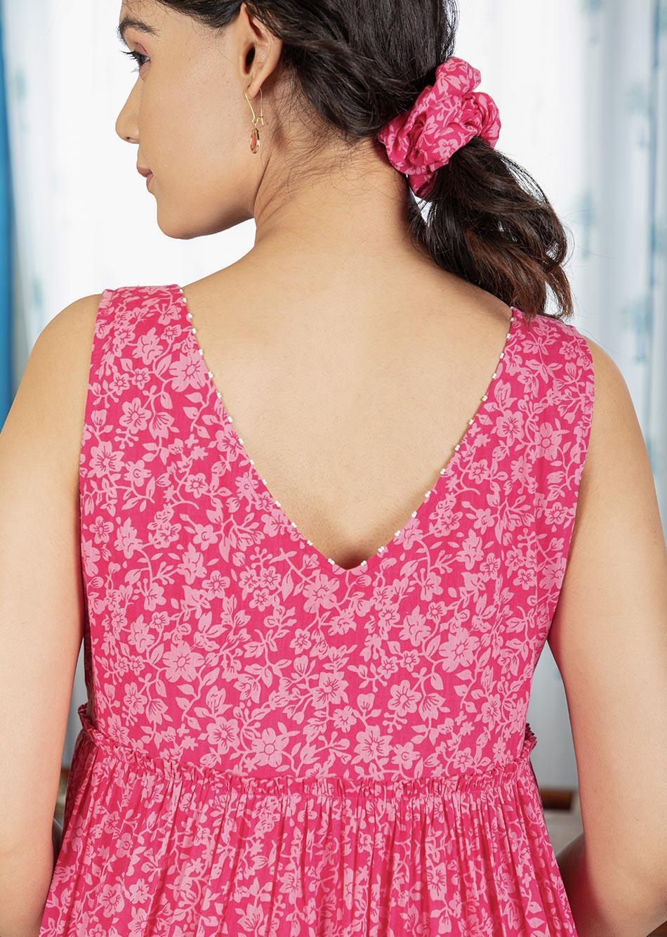 PINK WINK DRESS By Jovi Fashion