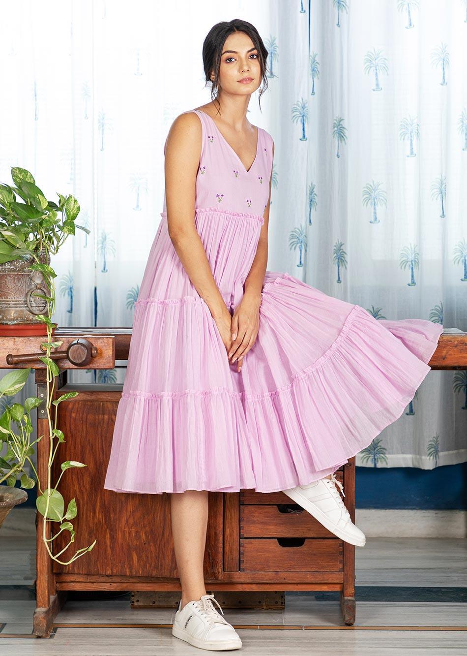 ROSE REPOSE DRESS By Jovi Fashion