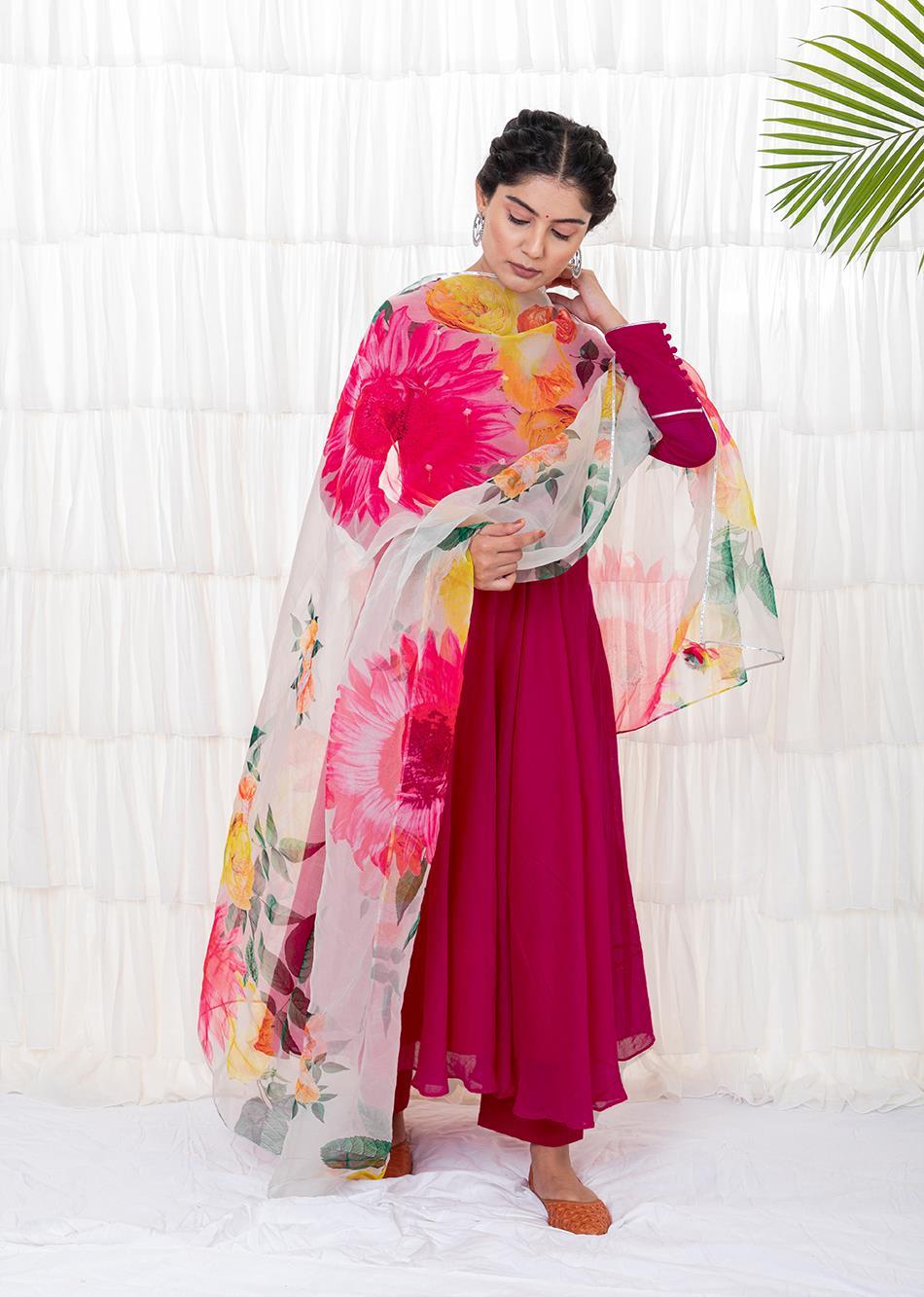 AZALEA ANARKALI SET By Jovi Fashion