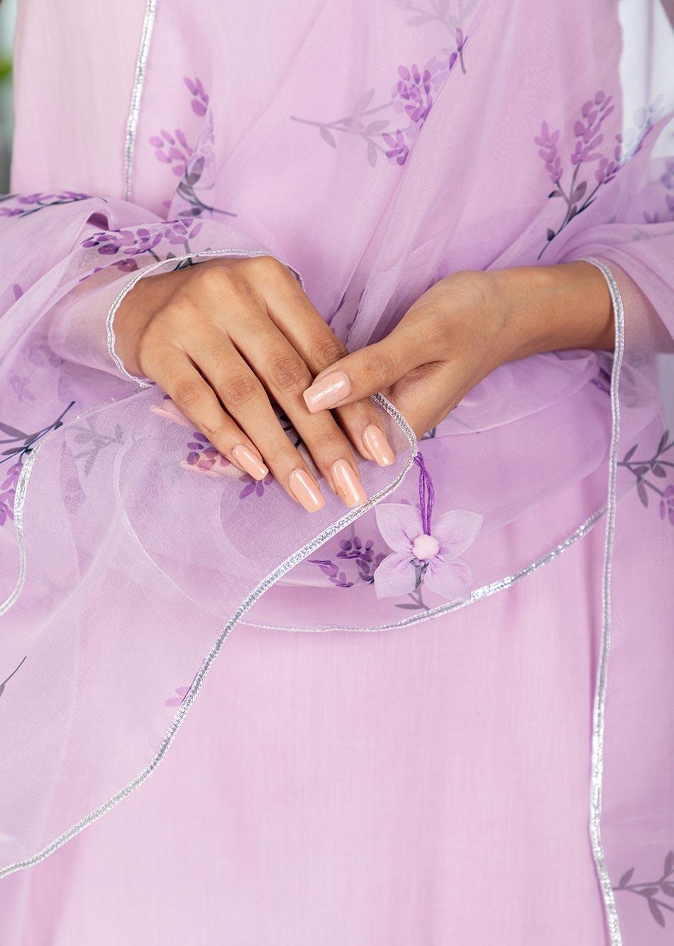 MOH Lilac Strappy Set (set of 3) By Jovi Fashion