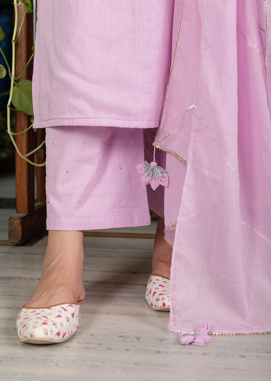 MOH Lilac Sleeveless Set (set of 3) By Jovi Fashion