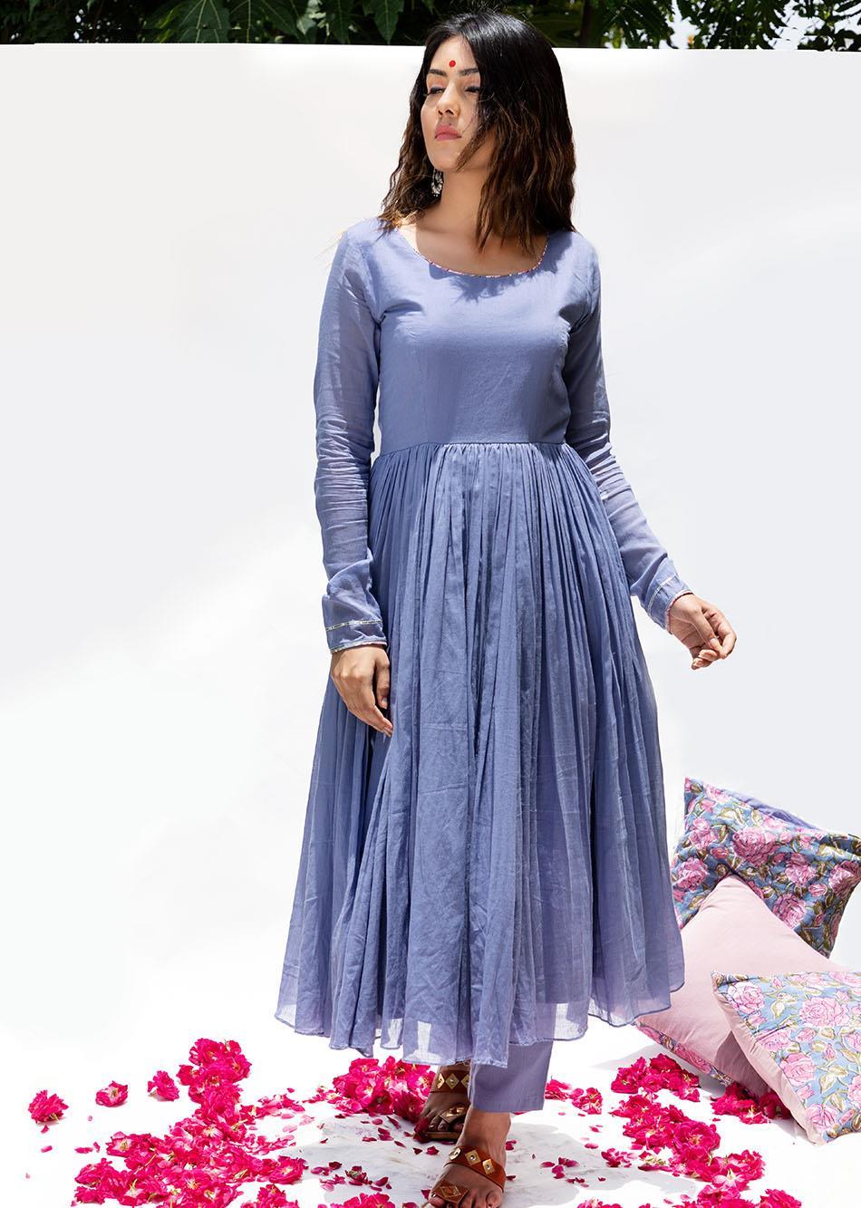 Baiguni Anarkali Kurta By Jovi Fashion