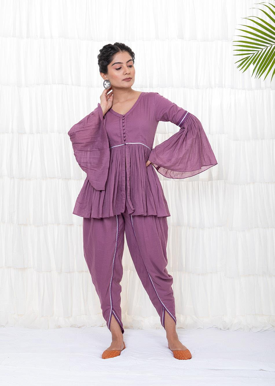 Tulip Kurta Pant By Jovi Fashion
