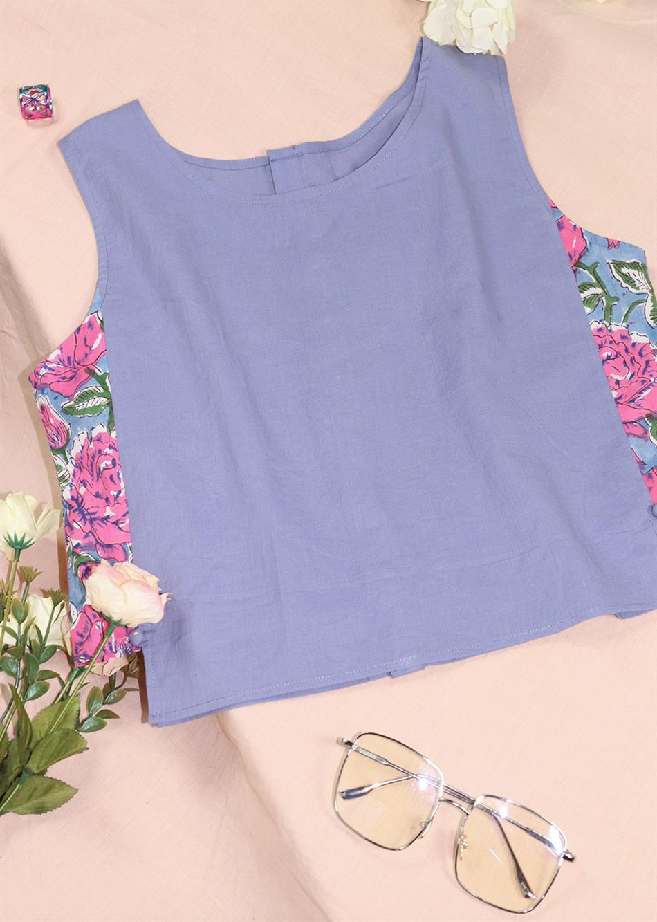 SUMMER SIDE PANEL TOPS (COLORS AVAILABLE) By Jovi Fashion