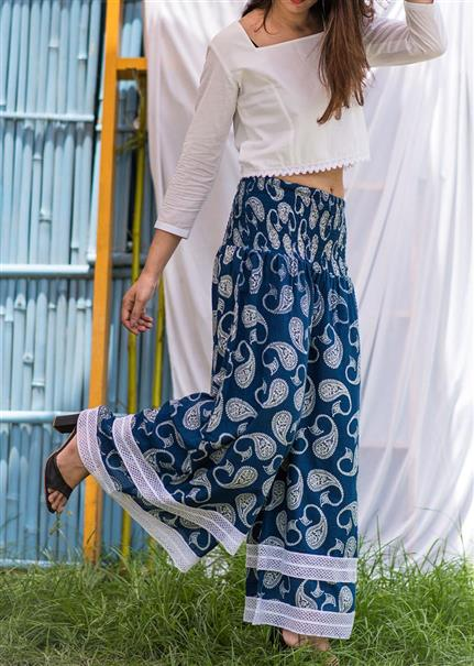 Conventional mode - Indigo Pants