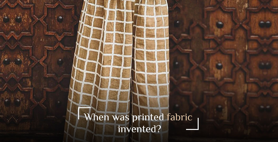 The earliest examples of print on fabrics date back to the 4th century B.C. Yes, printing on fabrics such an old proces...