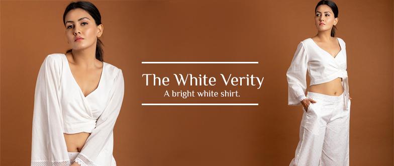 bright white shirt