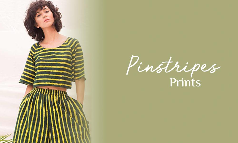 Pinstripes prints
