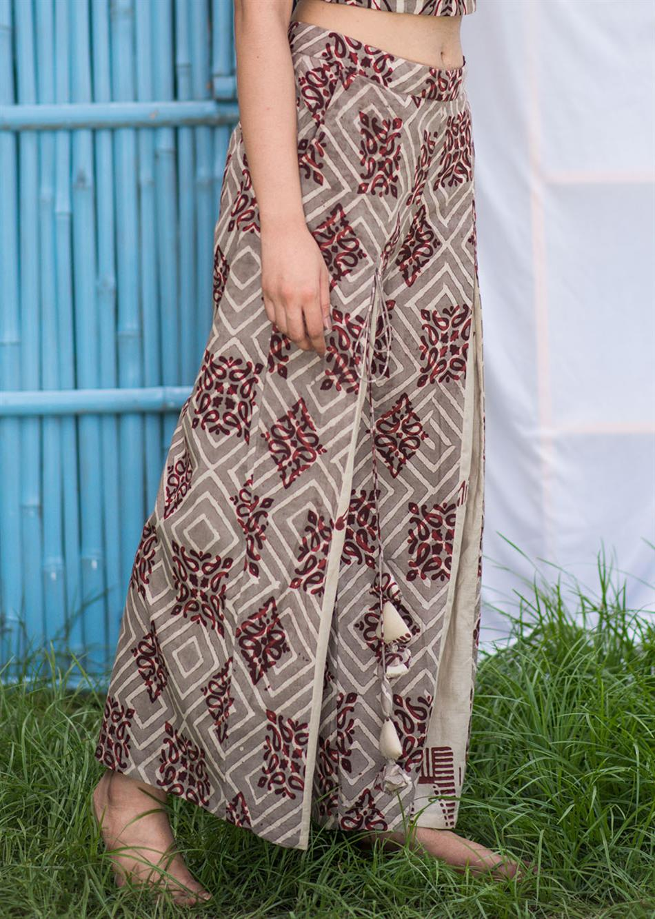 Lively vogue - (Palazzo Pants)