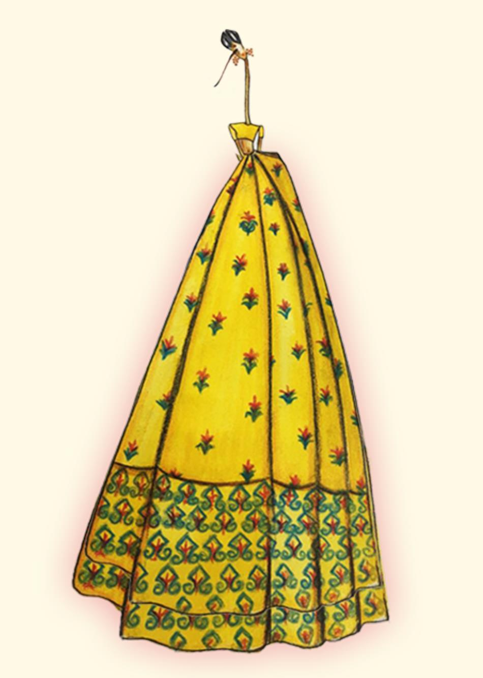fire beetle - yellow By Jovi Fashion