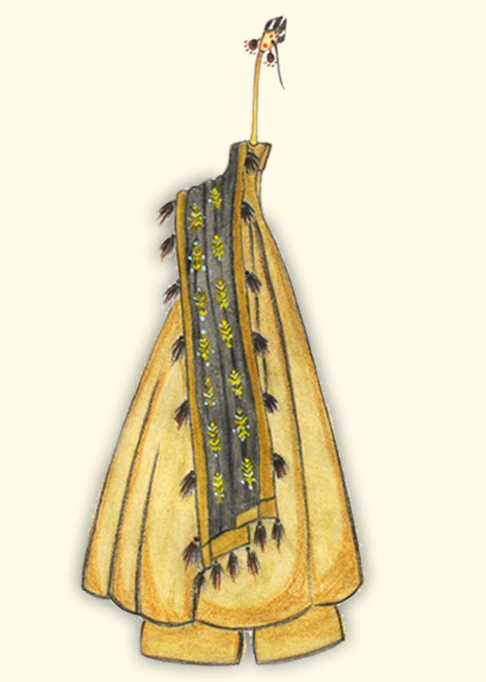 spring jubilation - peanut brown By Jovi Fashion