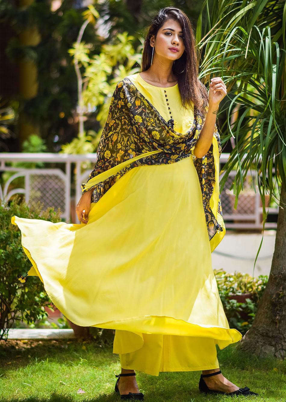 Spring jubilation - yellow By Jovi Fashion