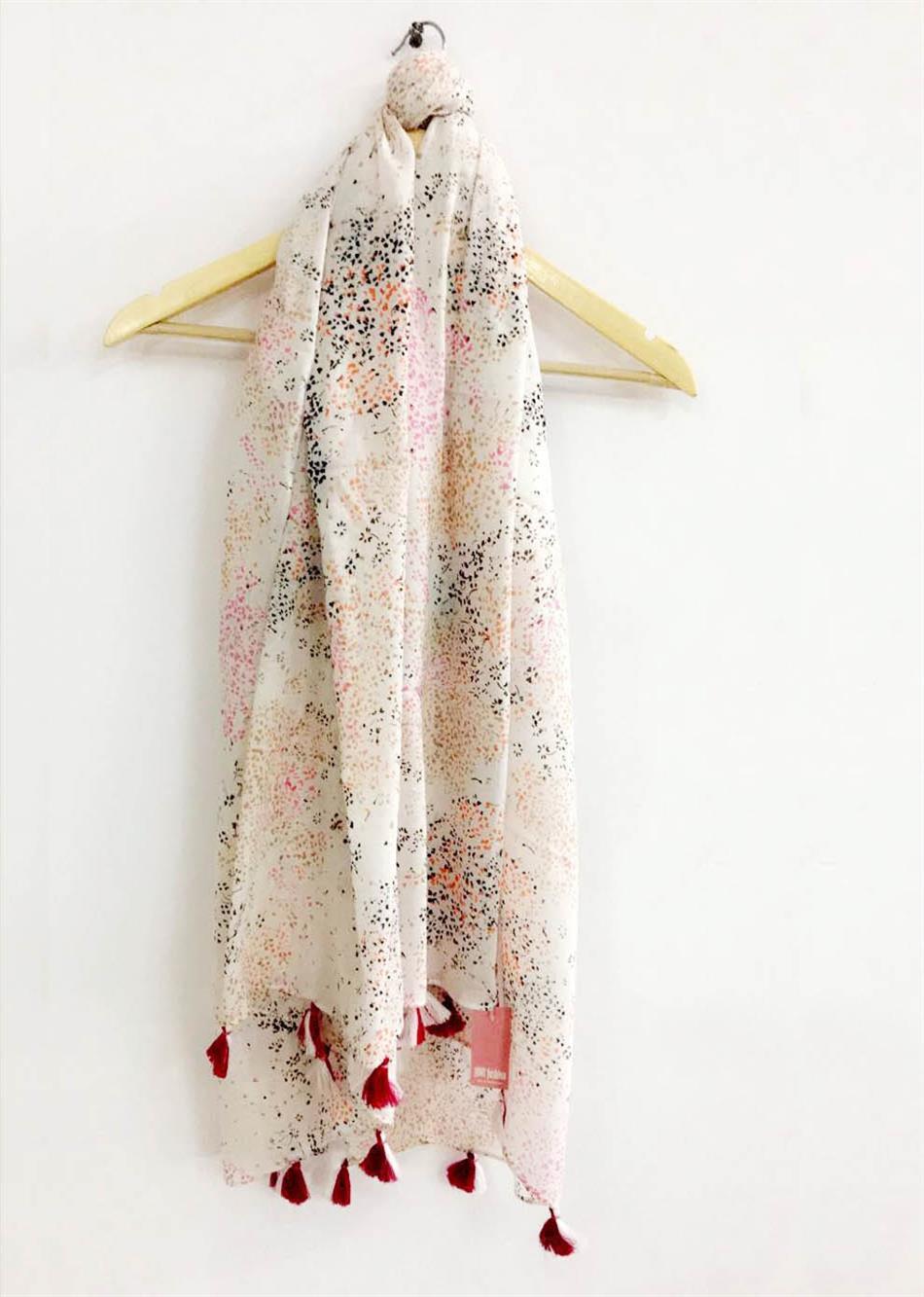 scarf - tiny flowers By Jovi Fashion