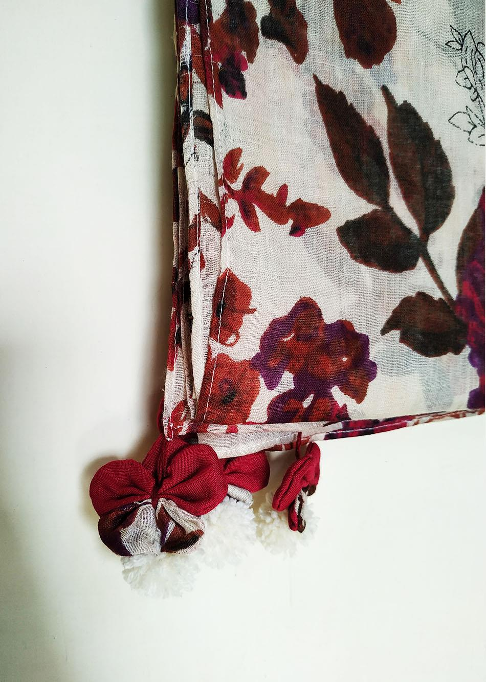 floral scarf By Jovi Fashion