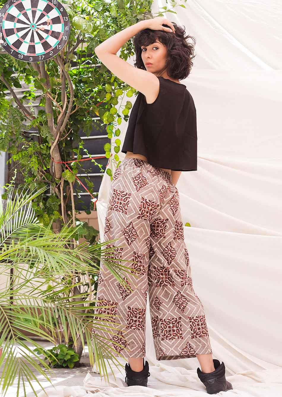Evening Culottes - (Pants) By Jovi Fashion