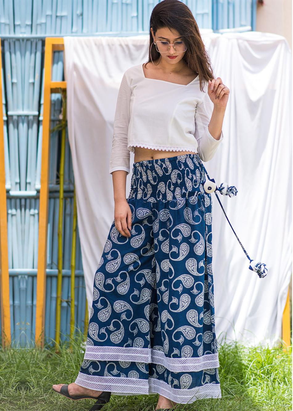 Conventional mode - Indigo Pants By Jovi Fashion