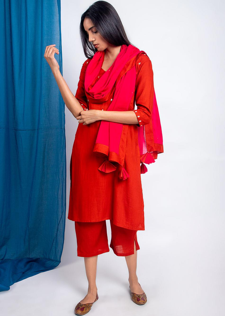 Shimmer all around (Dupatta) By Jovi Fashion