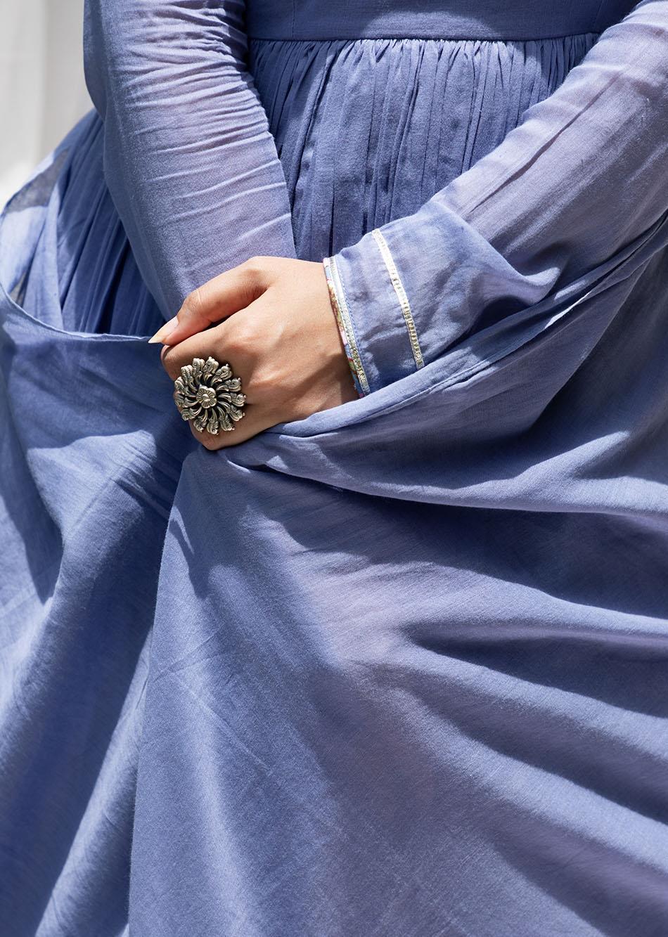 Baiguni Anarkali (set of 2) By Jovi Fashion