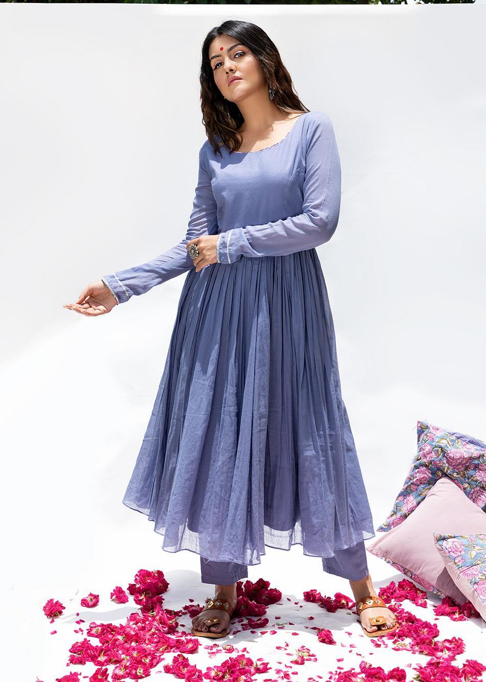 Baiguni Anarkali (set of 3) By Jovi Fashion