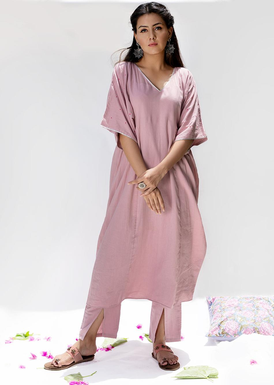 Gulabi- The kaftan style set