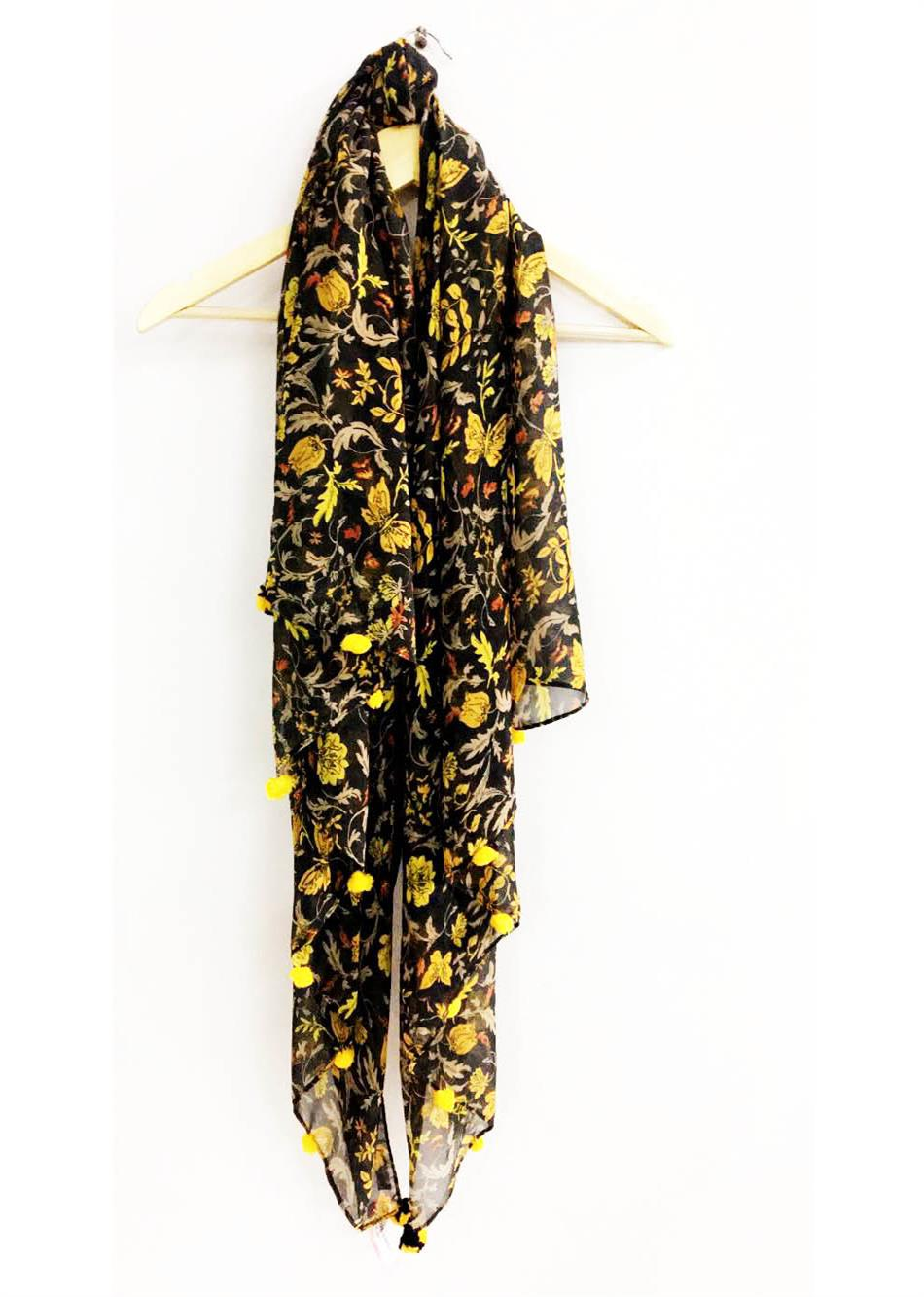 scarf - floral By Jovi Fashion