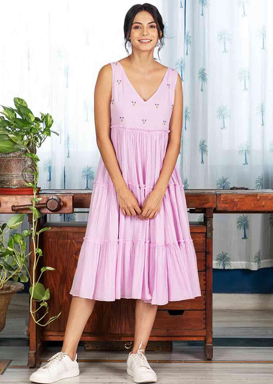 ROSE REPOSE DRESS