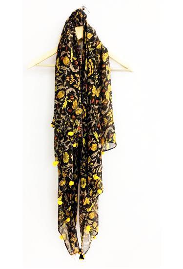 scarf - floral