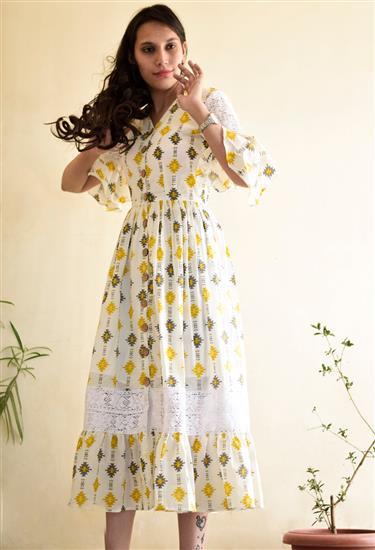 flared-midi-dress